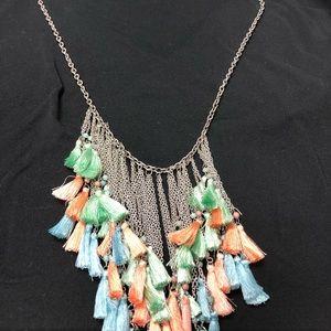 Beautiful tri-color necklace never worn